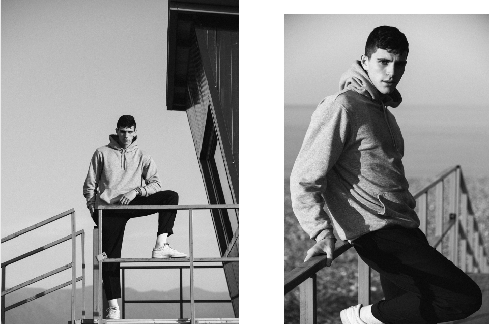 Beauty and Body of Male : George Elliott at DNA Models